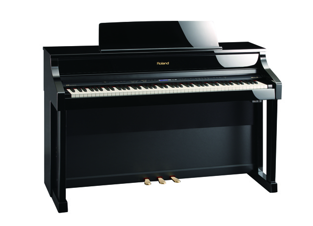 Roland HP-507 (Polished Ebony)