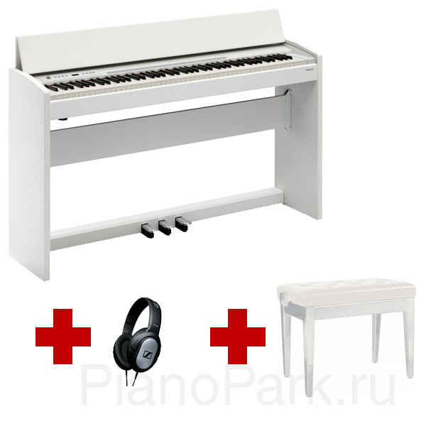 Roland F-120R (Polished White)