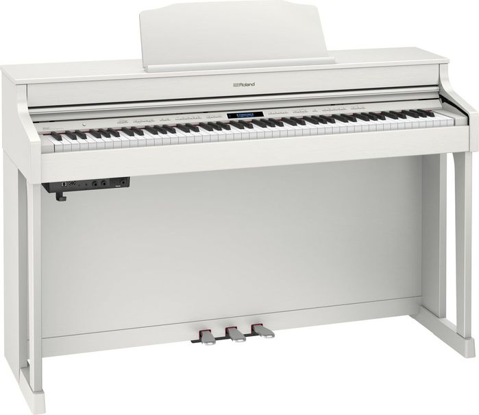 Roland HP603-WH + KSC-80-WH