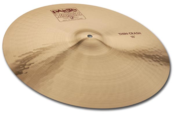 "Paiste 16"" 2002 Thin Crash"