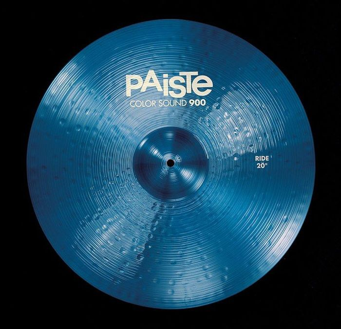 "Paiste 20"" 900 Color Sound Blue Ride"